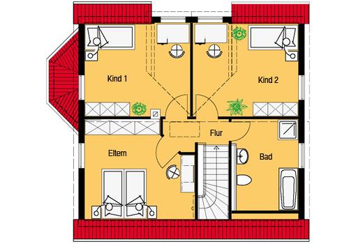 Smart 8 Dachgeschoss