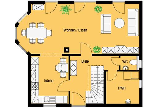 Smart 8 Erdgeschoss