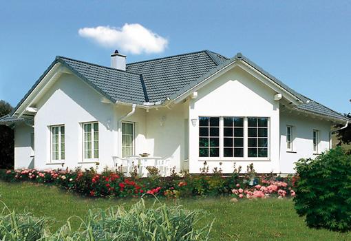 bungalow bauen wohnen auf einer ebene signet hausbau. Black Bedroom Furniture Sets. Home Design Ideas