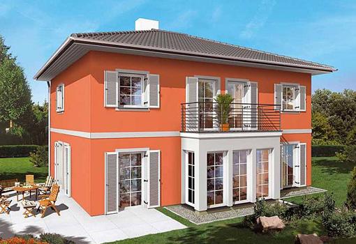 mediterranes haus bauen toscana villa signet hausbau. Black Bedroom Furniture Sets. Home Design Ideas